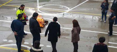 Acil Durum Planlaması ve Yangınla Mücadele Eğitimi